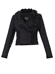 Lanvin Tweed Biker Jacket