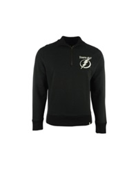 '47 Brand Men's Tampa Bay Lightning Cross Check Quarter Zip Pullover
