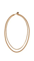 Cloverpost Exact Necklace Gold