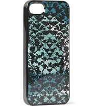 Marc By Marc Jacobs Snake Print Iphone 5 Cover Black