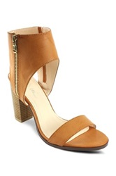 Mi.Im Lea Ankle Cuff High Heel Sandal Brown