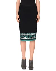 Angelo Marani Skirts Knee Length Skirts Women Dark Blue