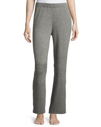 Christopher Fischer Cashmere Wide Leg Knit Pants Mid Grey
