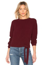 Lamade Foster Pullover Wine