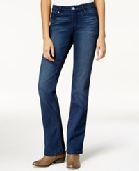 Maison Jules Bootcut Dark Blue Wash Jeans Only At Macy's Truce Wash