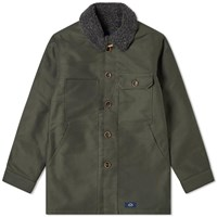 Bleu De Paname Double Counter Jacket Green