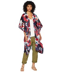 Steve Madden Orchid Floral Print Kimono Multi Clothing