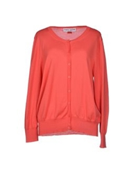 Frankie Morello Cardigans Coral