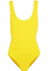 Karla Colletto Reina Swimsuit Bright Yellow
