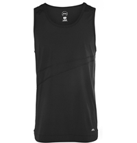 Athletic Propulsion Labs Knitted Nylon Blend Running Tank Top Black