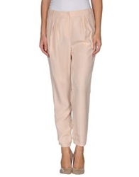 Tibi Casual Pants Light Pink