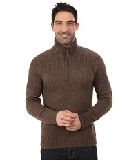Royal Robbins Scotia 1 4 Zip Timber Men's Long Sleeve Pullover Brown