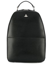 Vivienne Westwood Structured Backpack Black