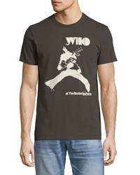 Chaser The Who Boston Tea Party Graphic T Shirt Black
