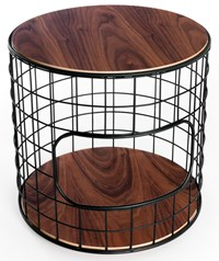 Gus Design Group Wireframe End Table Multicolor