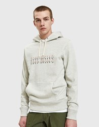 Saturdays Surf Nyc Ditch Strikethrough Hoodie In Natural Heather
