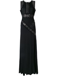 Antonio Berardi Side Slit Gown Black
