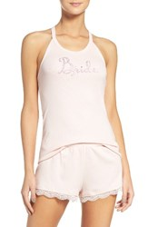 Betsey Johnson Women's Bride Pajamas Veiled Rose