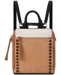 The Sak Loyola Convertible Small Backpack Neutral Silver
