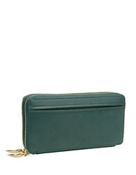Tusk Donnington Double Zip Clutch Wallet Forest
