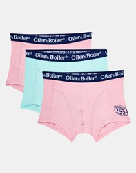 Oiler And Boiler Pastel 3 Pack Trunk