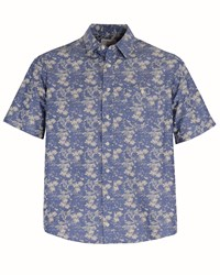 Double Two Men's Bar Harbour By Casual Shirt Blue