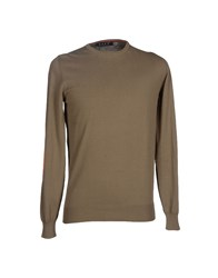 Bafy Knitwear Jumpers Men Khaki