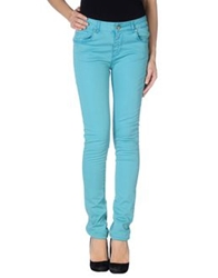 Fracomina Casual Pants Turquoise