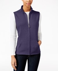 Karen Scott Petite Quilted Vest Only At Macy's Cassis
