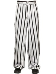 La Perla Striped Silk Jacquard Pajama Pants