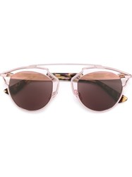 Christian Dior Dior Homme 'Dior So Real' Sunglasses Pink And Purple