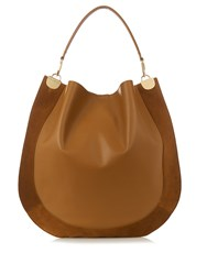 Diane Von Furstenberg Moon Large Bag Tan