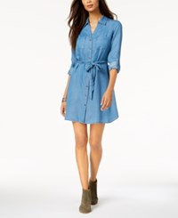 Styleandco. Style Co Tie Belt Shirtdress Created For Macy's Sun Wash