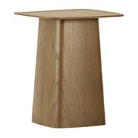 Vitra Wooden Side Table Walnut Brown