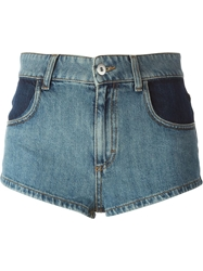 Au Jour Le Jour Denim Shorts Blue