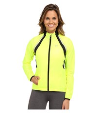 Pearl Izumi W Elite Barrier Convertible Cycling Jacket Screaming Yellow Women's Workout