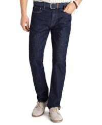 Izod Straight Fit Rinsed Wash 5 Pocket Jeans