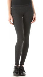 Solow Long Leggings Charcoal