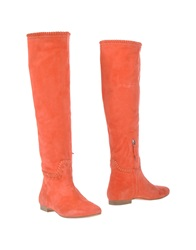 Julie Dee Boots Coral