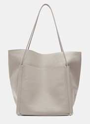 Building Block Pocket Tote Bag Grey