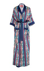 For Restless Sleepers Eurinome Robe Print