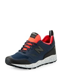 New Balance Men's Trailbuster Re Engineered Outdoor Sneaker Navy Pink Blue Pink