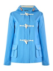 Gloverall Cropped Duffle Blue