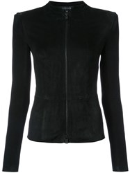 Jitrois Fitted Jacket Black