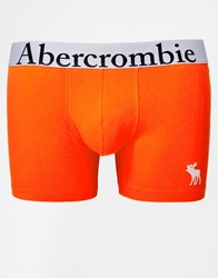 Abercrombie And Fitch Trunks With Moose Embroidery Orange