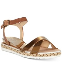Vince Camuto Kankitta Espadrille Sandals Women's Shoes Brown