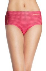 Women's Craft 'Greatness' Sport Briefs Stud Smoothie Shine
