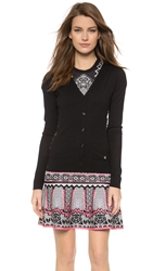 Temperley London Eliza Side Lace Cardigan