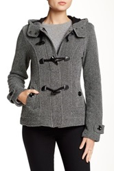Sebby Toggle Fleece Jacket Gray