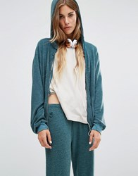 Wildfox Couture Vintage Hoodie Shaphire Green